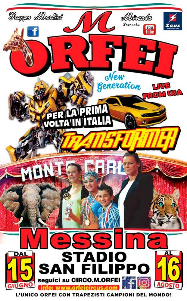 Circo M Orfei a Messina