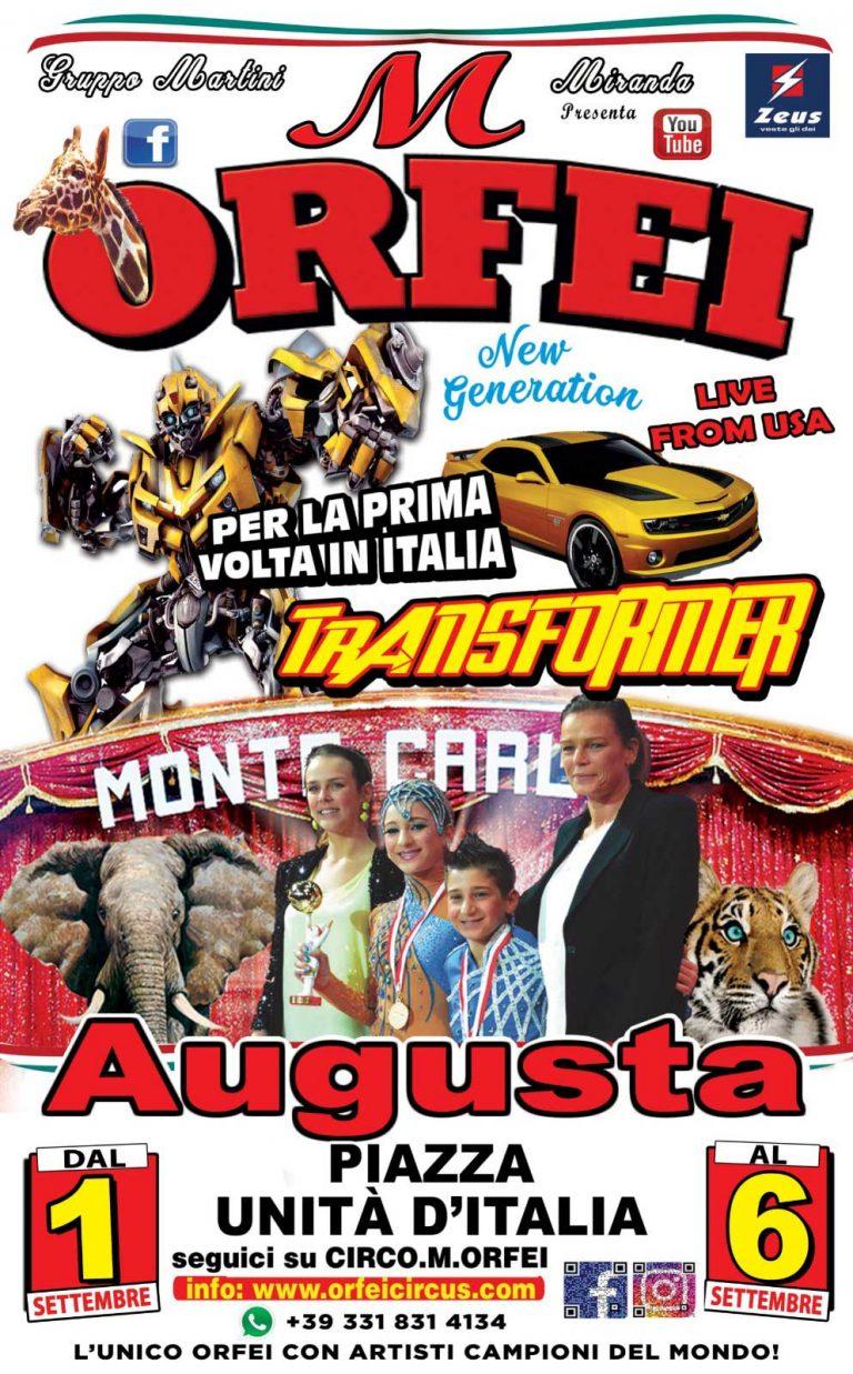 Read more about the article Il Grande Circo M. Orfei fa tappa a AUGUSTA